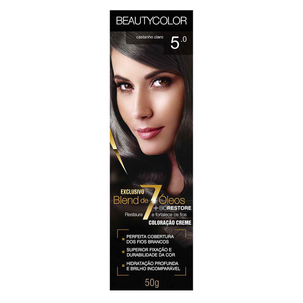 Coloração Beauty Color 5.0 Castanho Claro