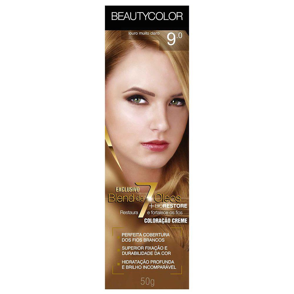 Coloração Beauty Color 9.0 Louro Muito Claro
