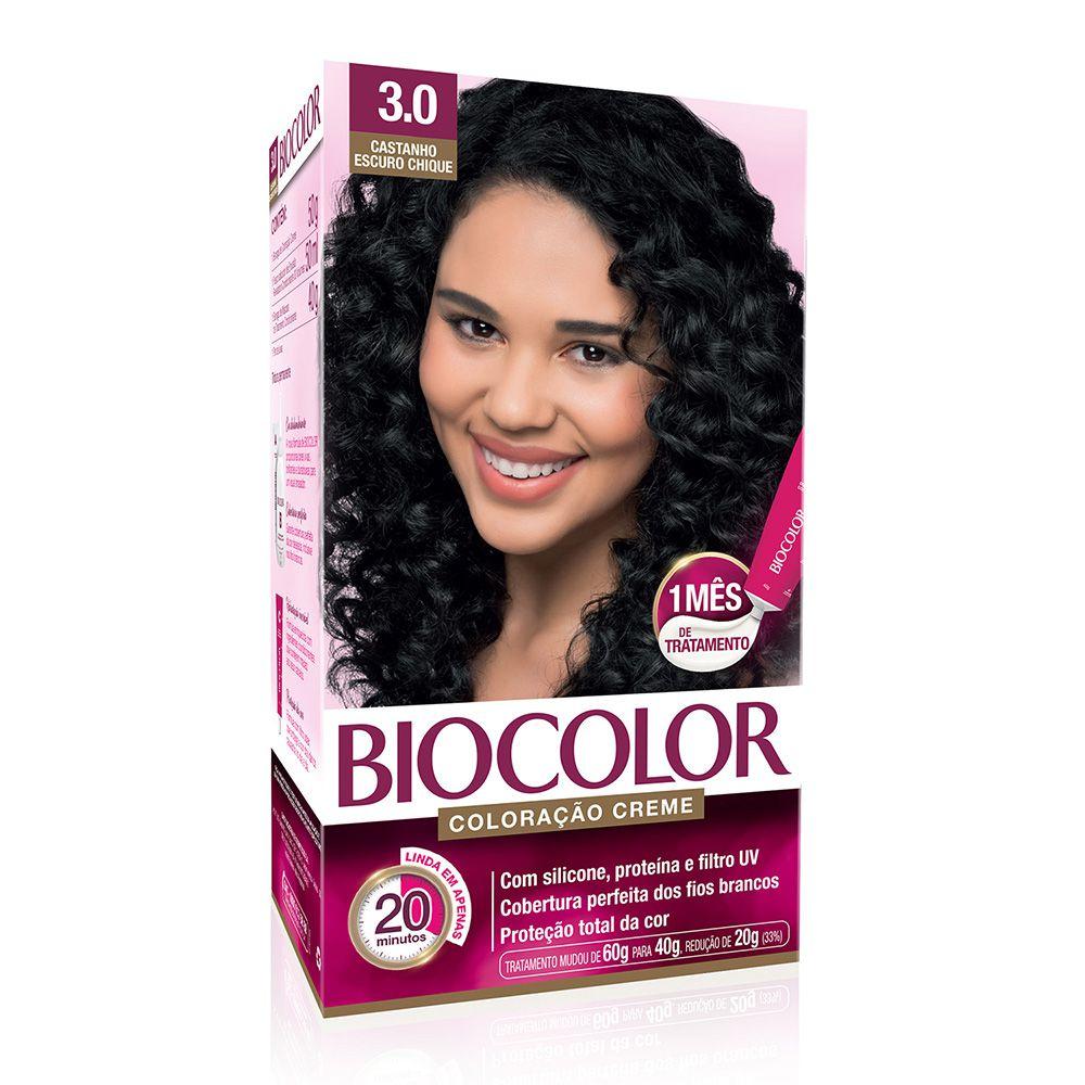 Coloração Biocolor 3.0 castanho Escuro Chique