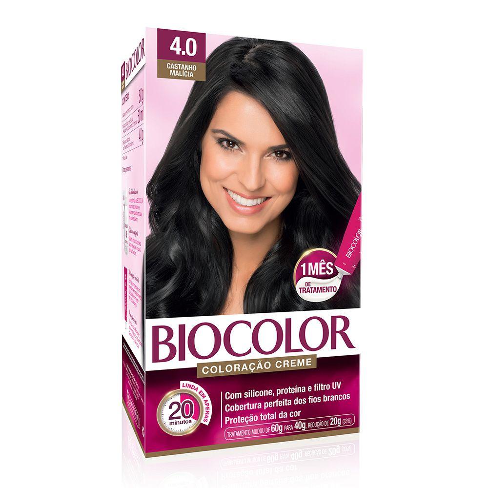 Coloração Biocolor 4.0 Castanho Malícia