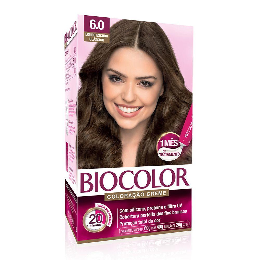 Coloração Biocolor 6.0 Louro Escuro Clássico