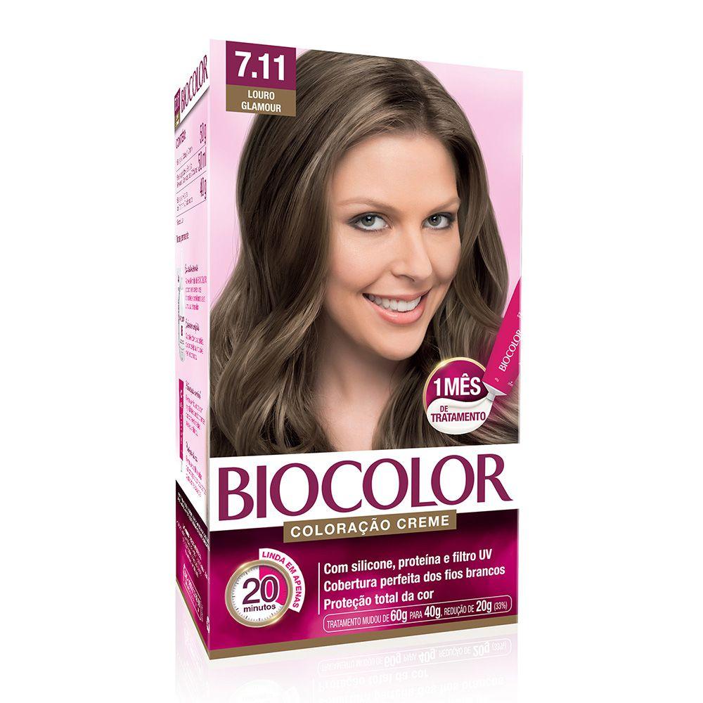 Coloração Biocolor 7.11 Louro Glamour