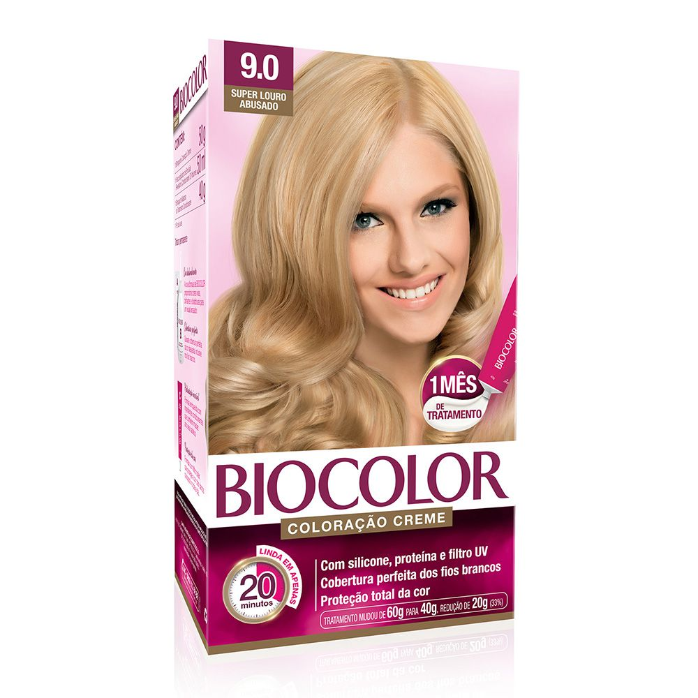 Coloração Biocolor 9.0 Super Louro Abusado