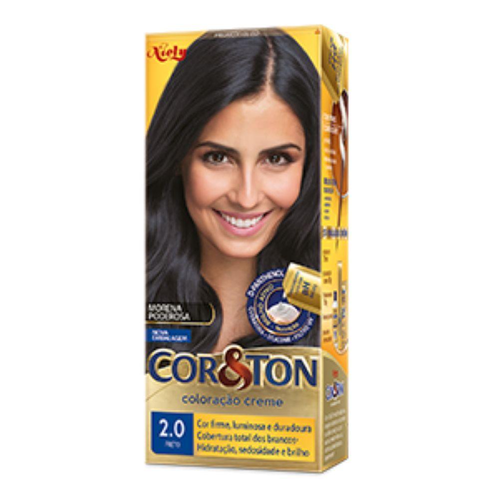 Coloração Cor&Ton 2.0 Preto