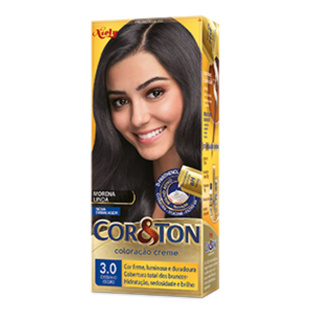 Coloração Cor&Ton 3.0 Castanho Escuro