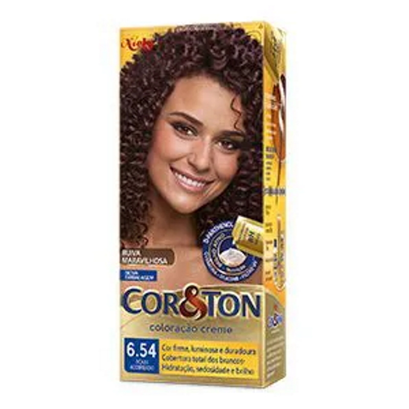 Coloração Cor&Ton 6.54 Acaju acobreado