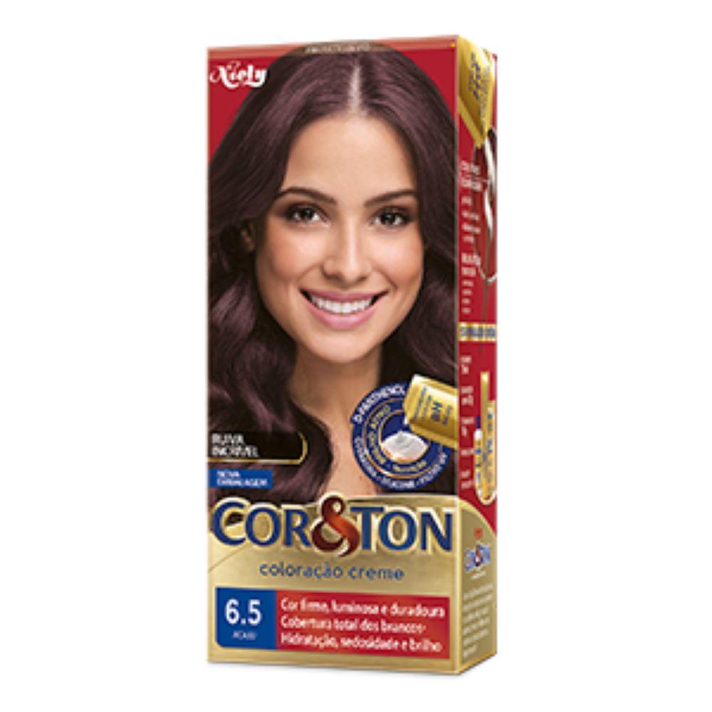 Coloração Cor&Ton 6.5 Acaju