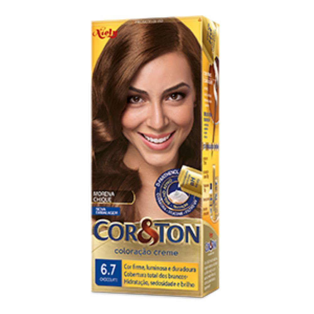 Coloração Cor&Ton 6.7 Chocolate