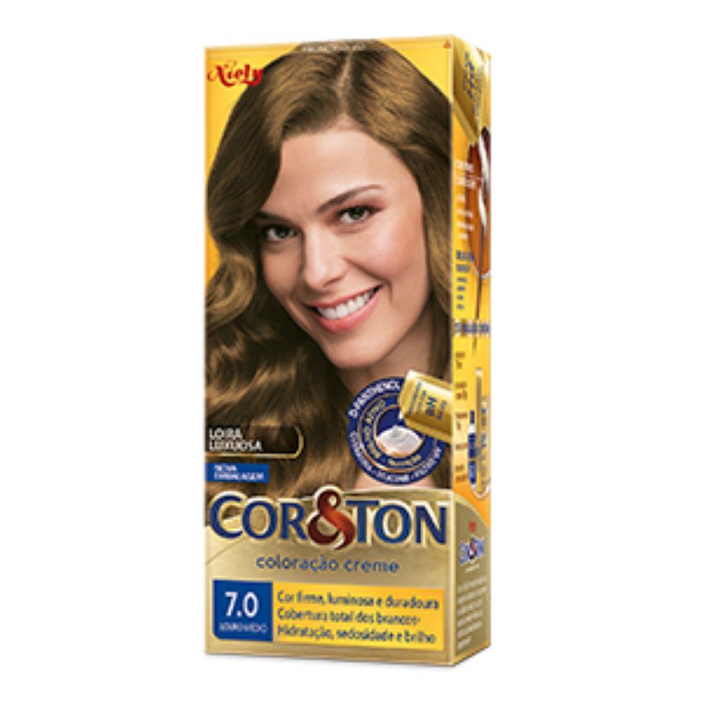 Coloração Cor&Ton 7.0 Louro Médio