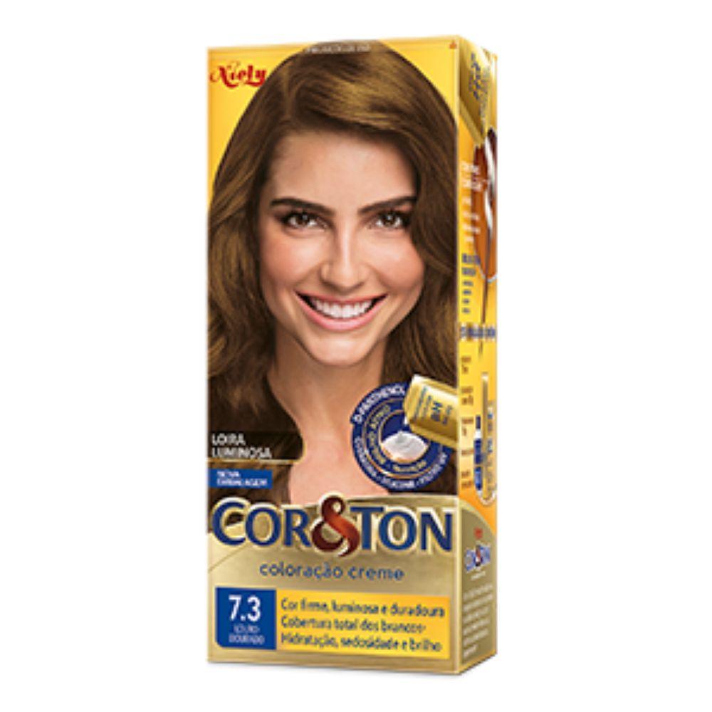 Coloração Cor&Ton 7.3 Louro Dourado