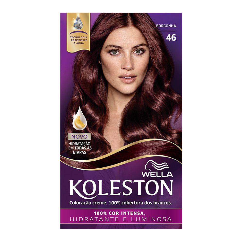 Coloração Creme Koleston 46 Borgonha