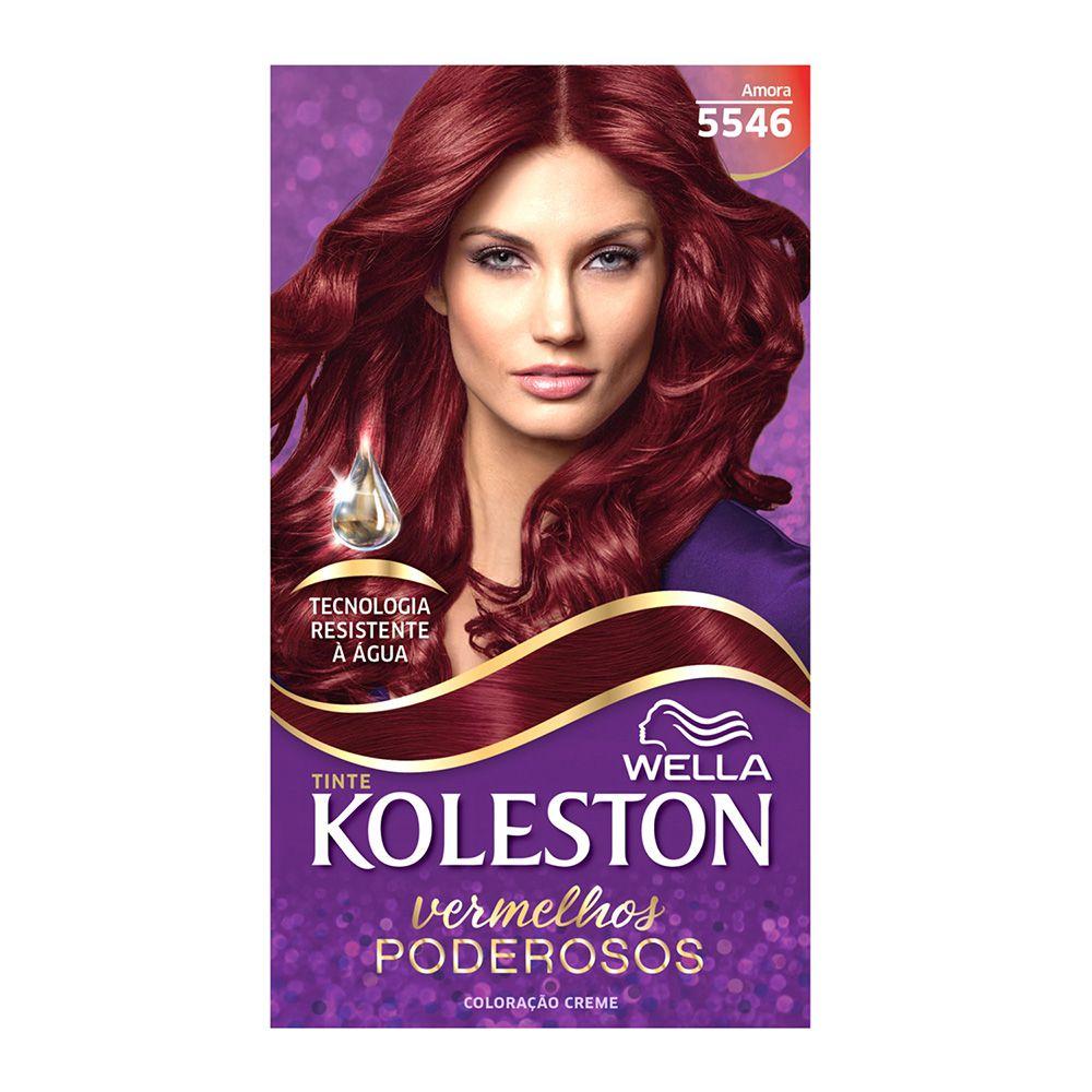 Coloração Creme Koleston 5546 Amora  - Sofí Cosméticos