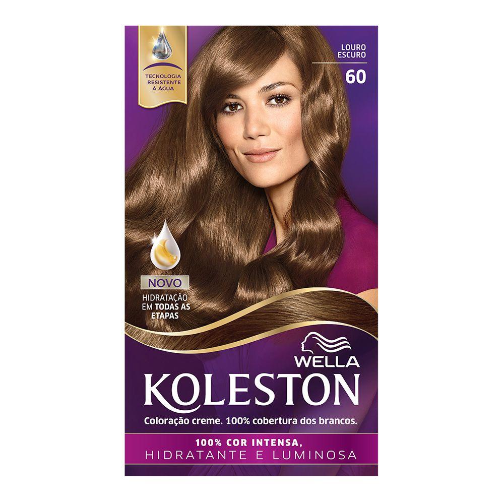 Coloração Creme Koleston 60 Louro Escuro