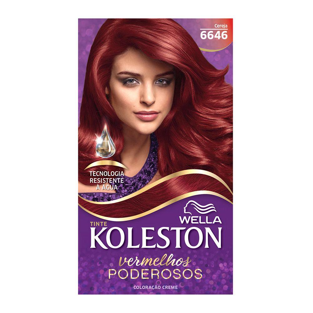 Coloração Creme Koleston 6646 cereja