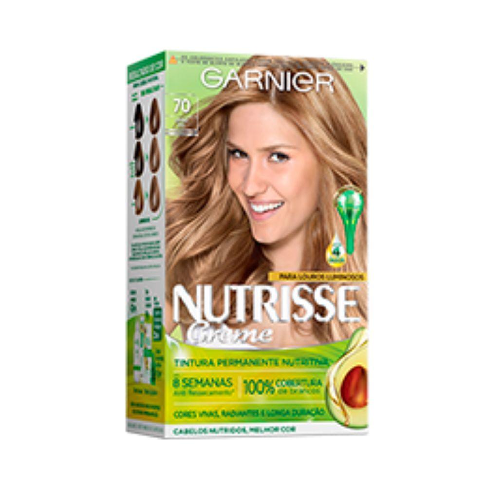 Coloração Creme Nutrisse 70 Louro Natural  - Sofí Cosméticos