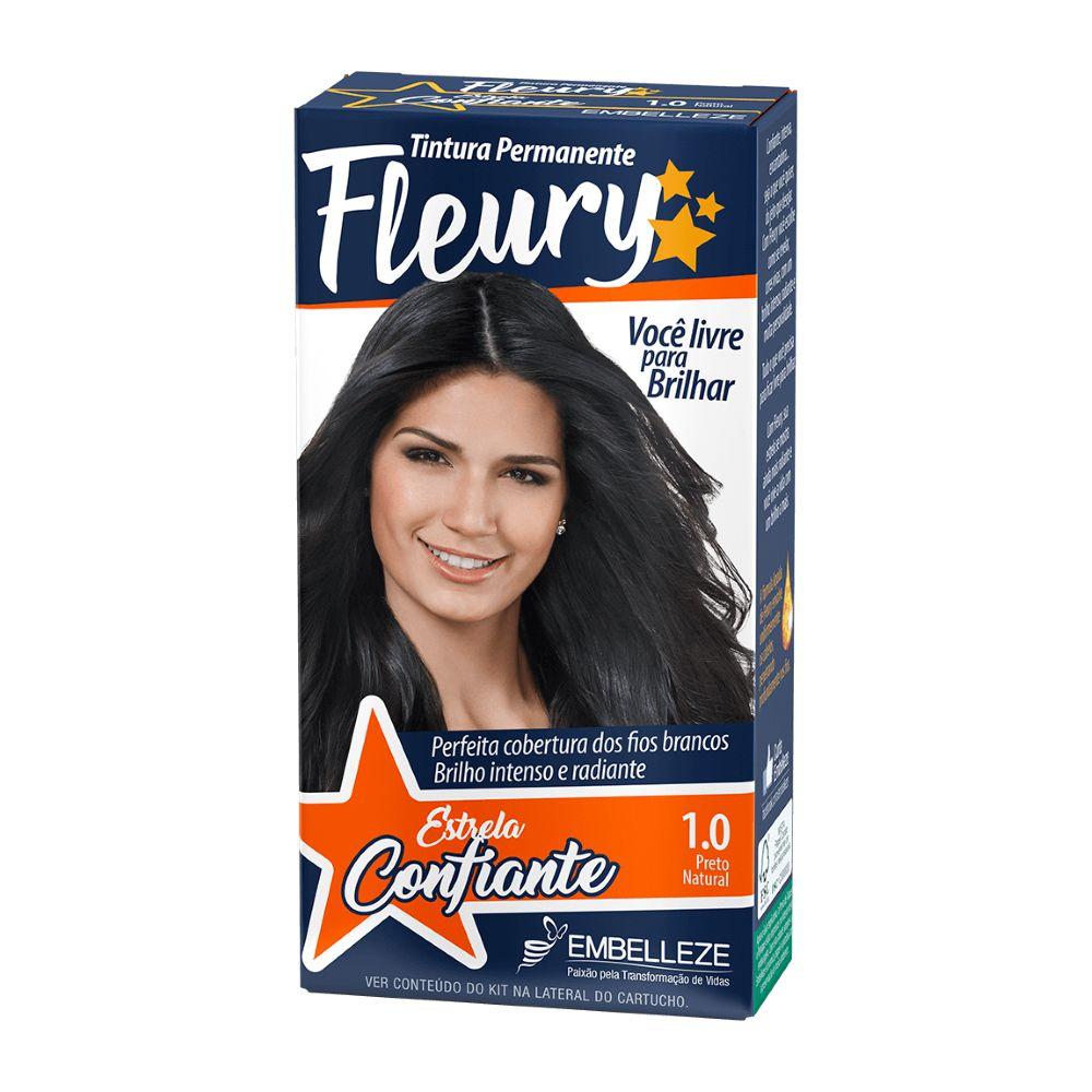 Coloração Fleury 1.0 Preto Natural