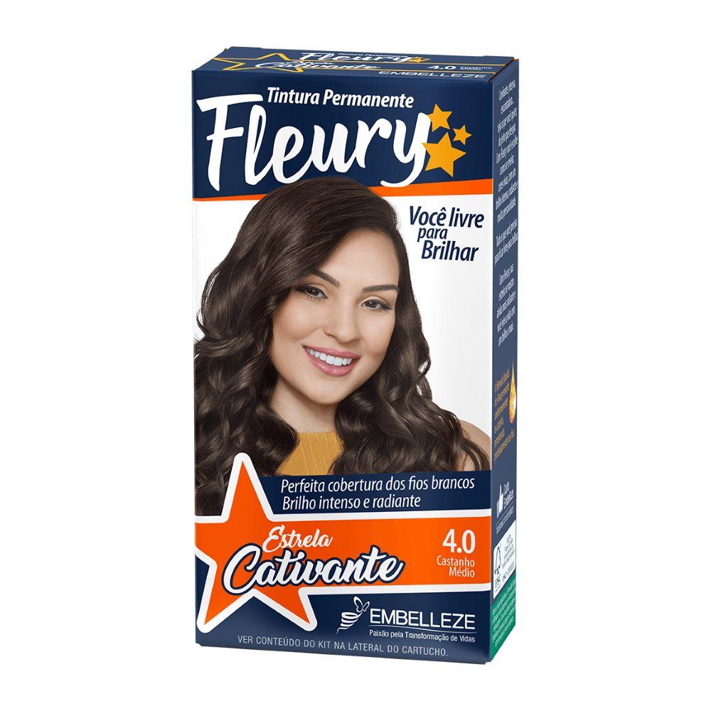 Coloração Fleury 4.0 Castanho Médio  - Sofí Cosméticos