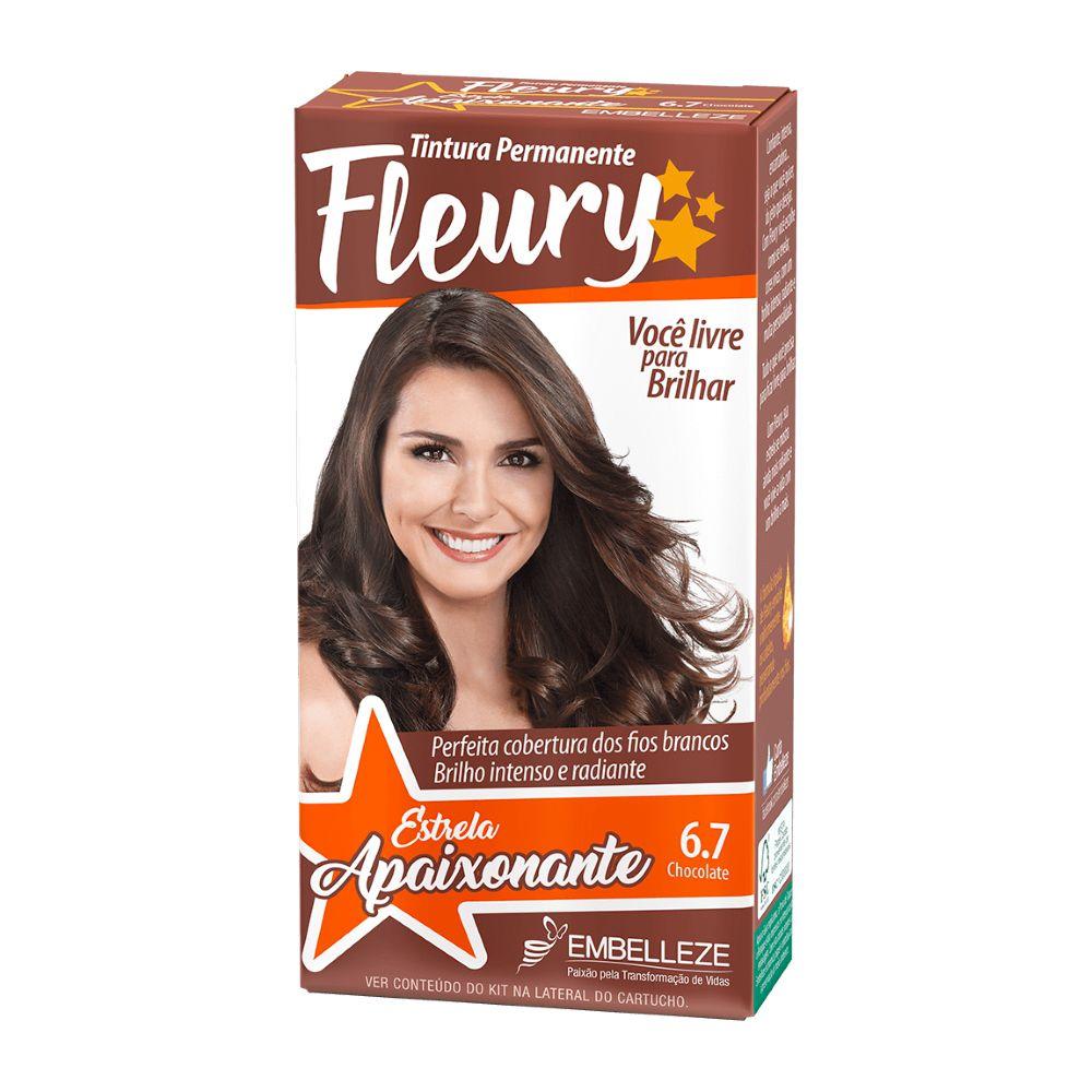 Coloração Fleury 6.7 Chocolate
