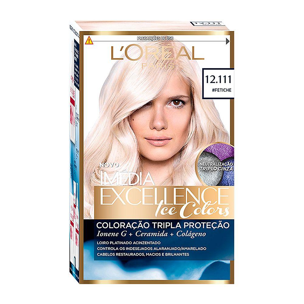 Coloração Imedia Excellence Creme loreal 12.111#Fetiche  - Sofí Cosméticos