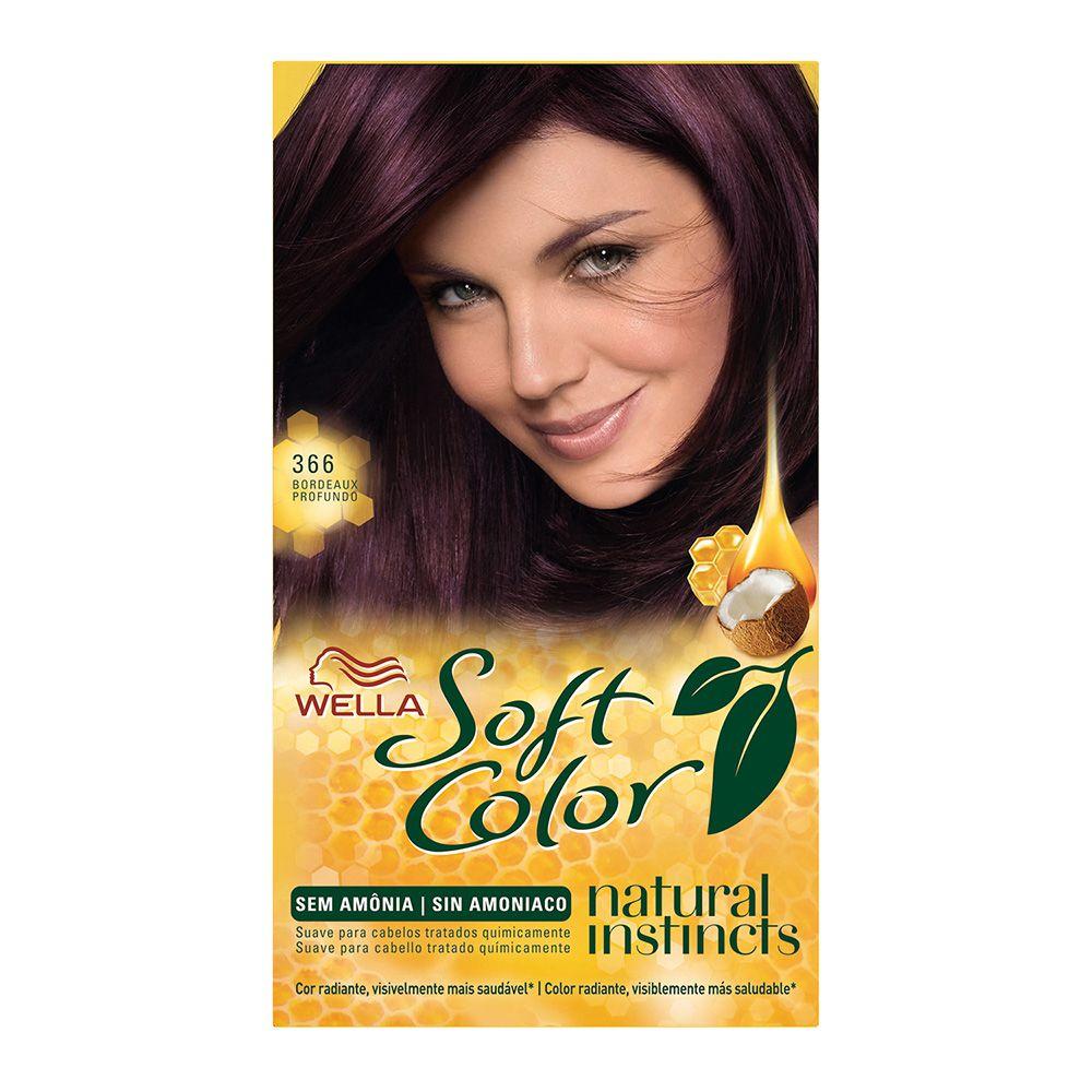 Coloração sem Amônia Soft Color 366 Bordeaux