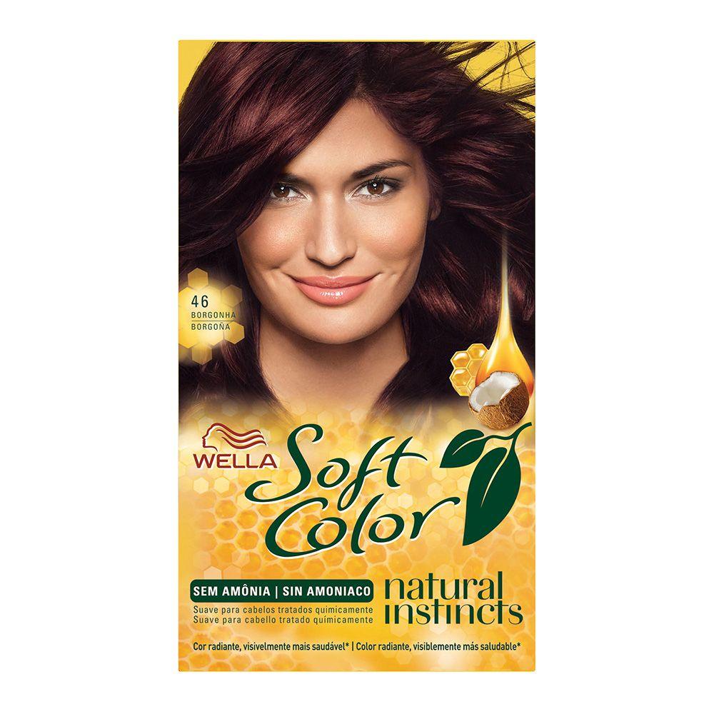 Coloração sem Amônia Soft Color 46 Borgonha