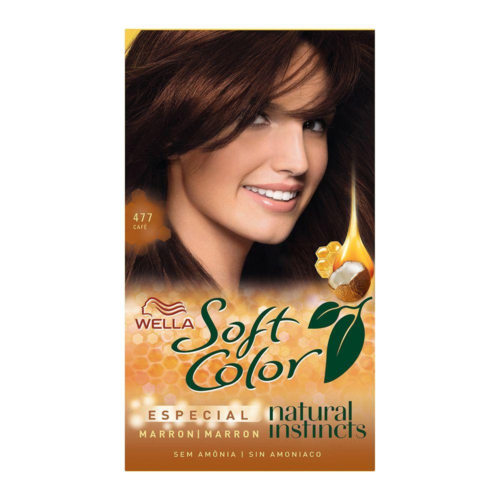 Coloração sem Amônia Soft Color 477 cafe