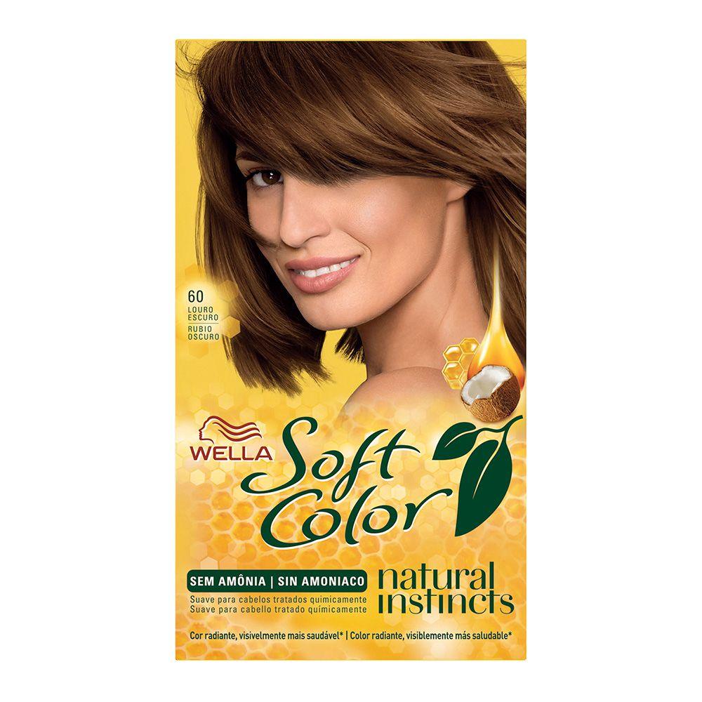 Coloração sem Amônia Soft Color 60 Louro Escuro