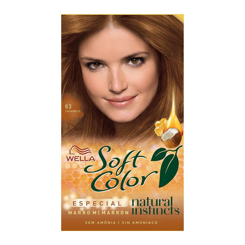 Coloração sem Amônia Soft Color 63 Caramelo