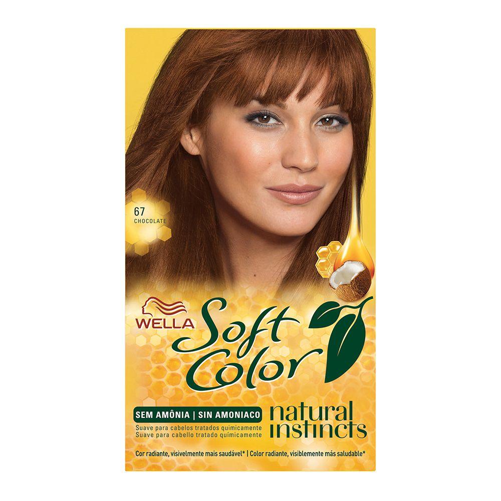 Coloração sem Amônia Soft Color 67 Chocolate
