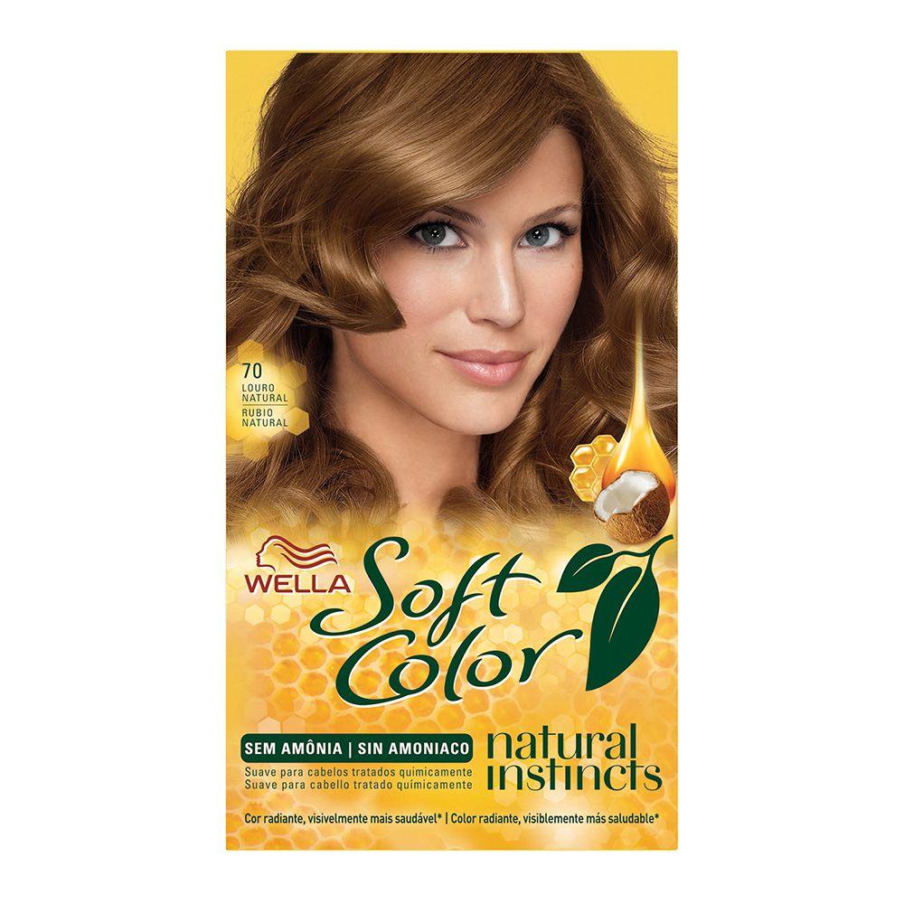 Coloração sem Amônia Soft Color 70 Louro Natural