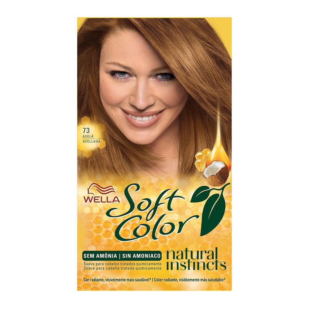 Coloração sem Amônia Soft Color 73 Avelã