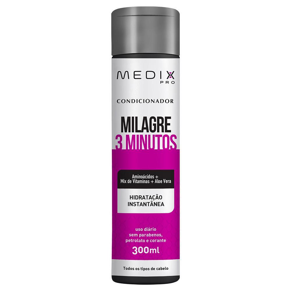 Condicionador Medix Pro Milagre 3 Minutos 300ml