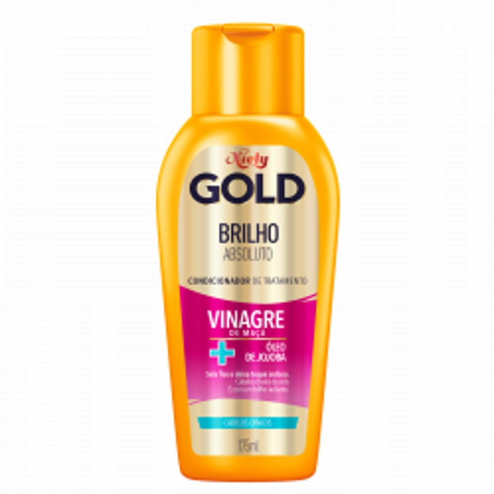 Condicionador Niely Gold Brilho Absoluto 200ml