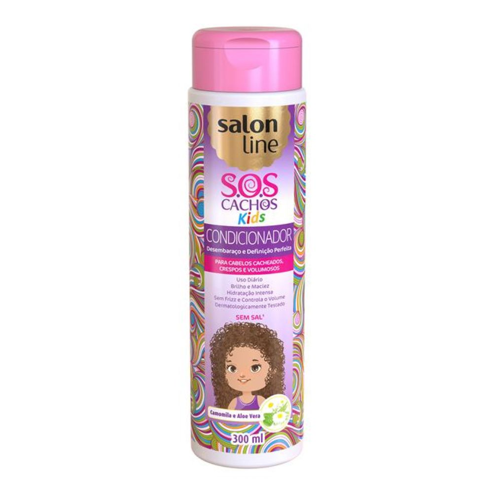 Condicionador Salon Line SOS Cachos Kids 300ml