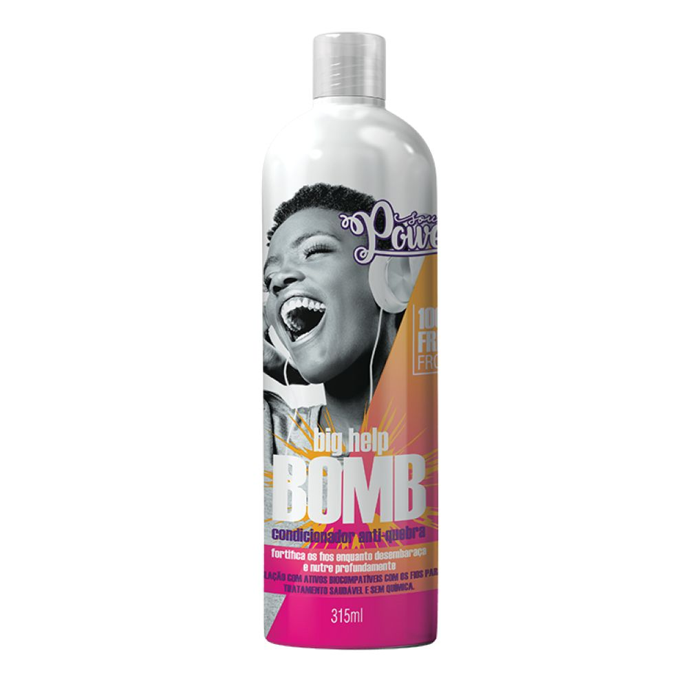 Condicionador Soul Power Big Help Bomb 315ml