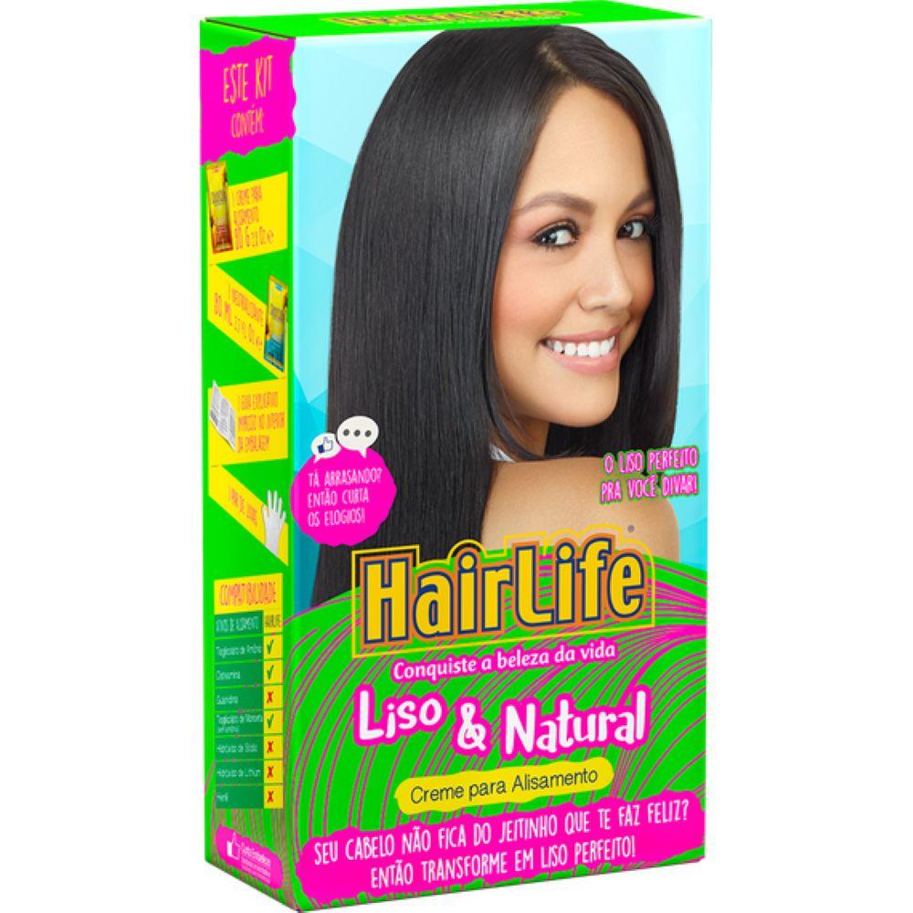 Creme Alisante HairLife Liso e Natural