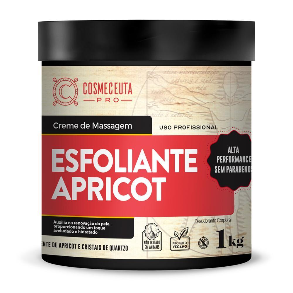 Creme de Massagem Cosmeceuta Esfoliante Apricot 1kg