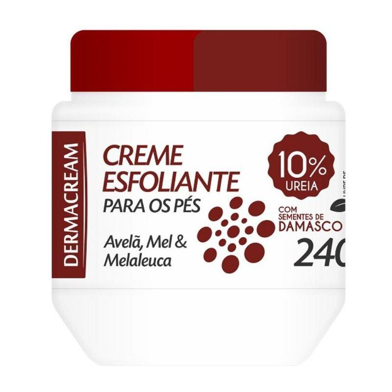 Creme Esfoliante Ureia 240g DermaCream