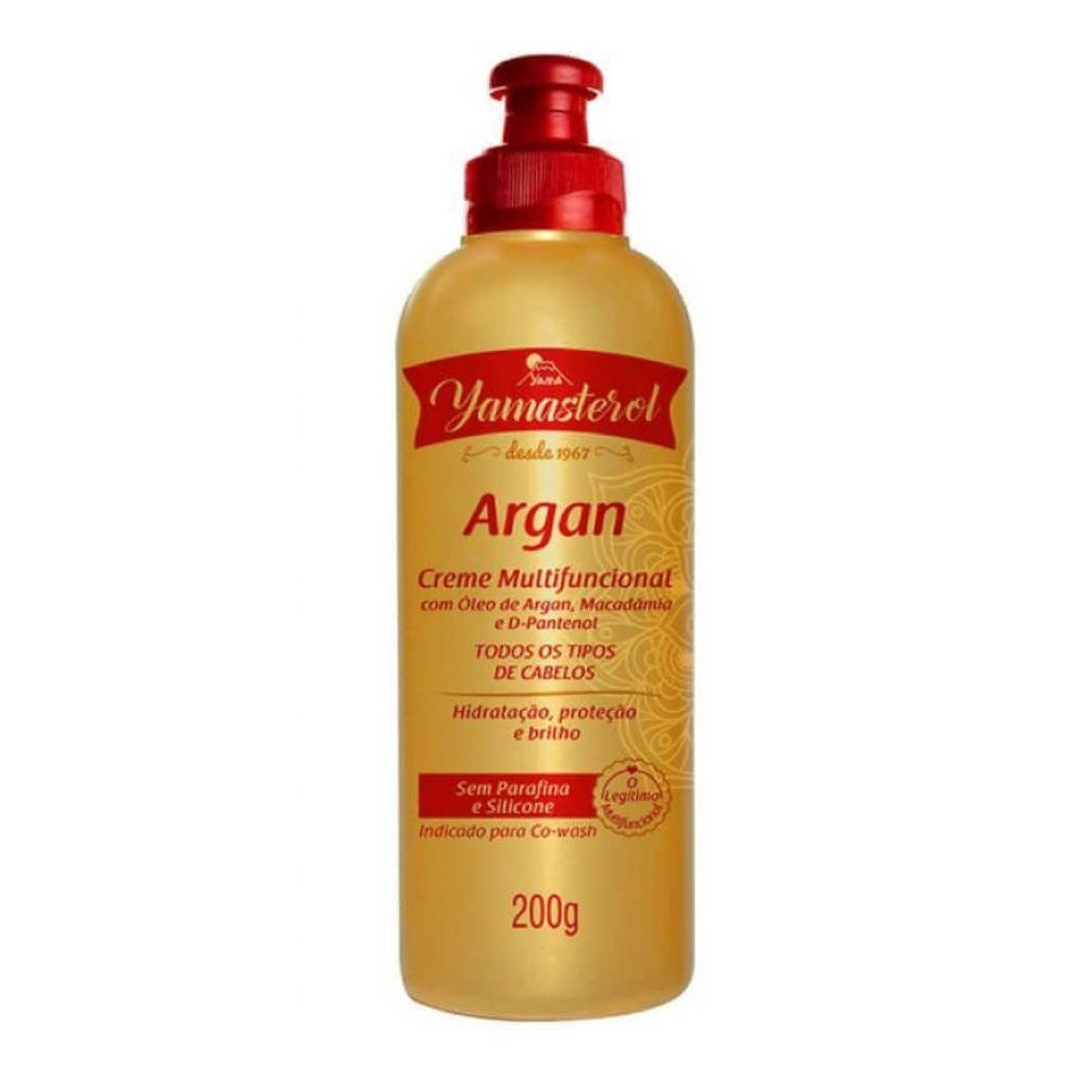 Creme Multifuncional Yamasterol Argan com Macadamia e D-Pantenol 200g