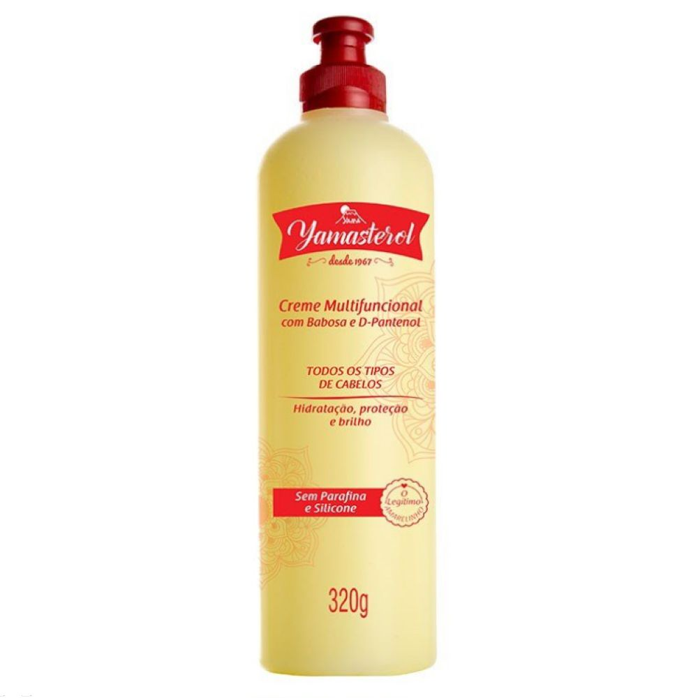 Creme Multifuncional Yamasterol Babosa e D-Pantenol 320g  - Sofí Cosméticos