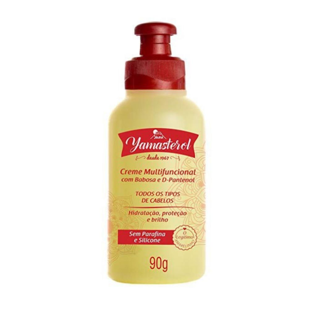 Creme Multifuncional Yamasterol Babosa e D-Pantenol 90g