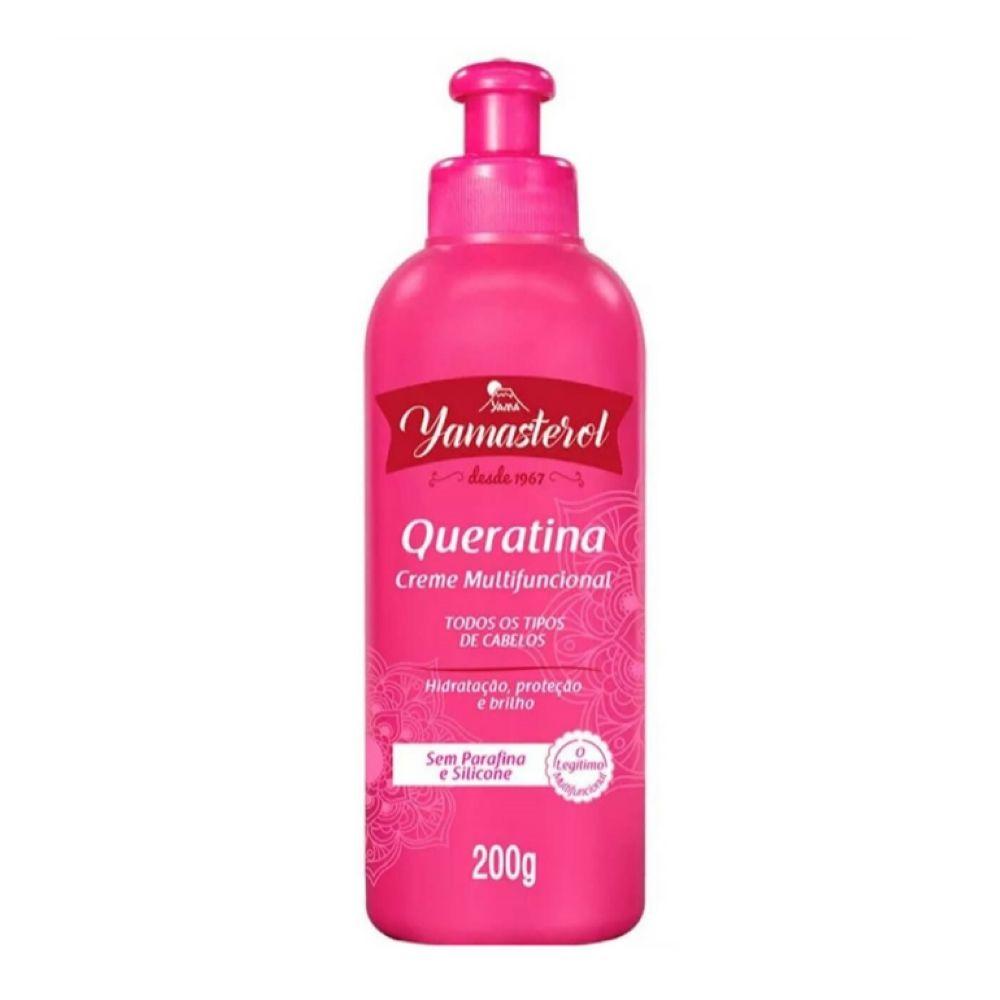 Creme Multifuncional Yamasterol Co-Wash Queratina 200g