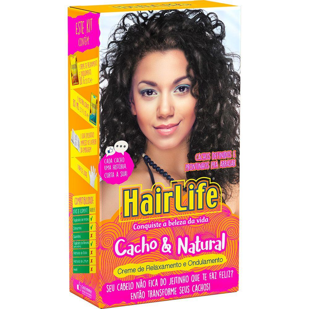 Creme para Encacheamento HairLife Cachos & Natural
