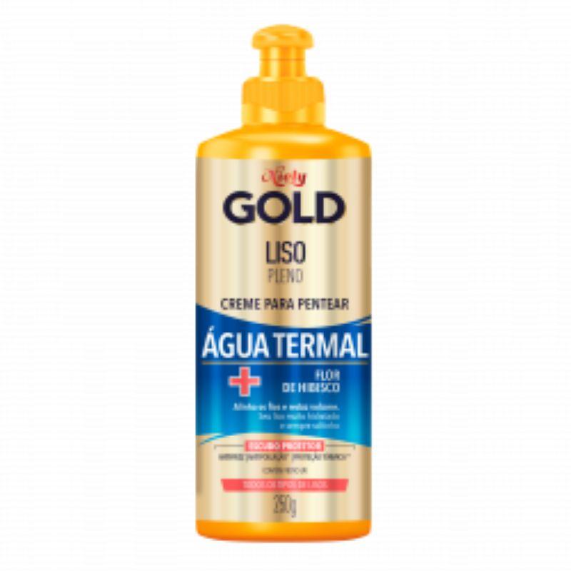 Creme para Pentear Niely Gold Água Termal Liso Pleno 250g