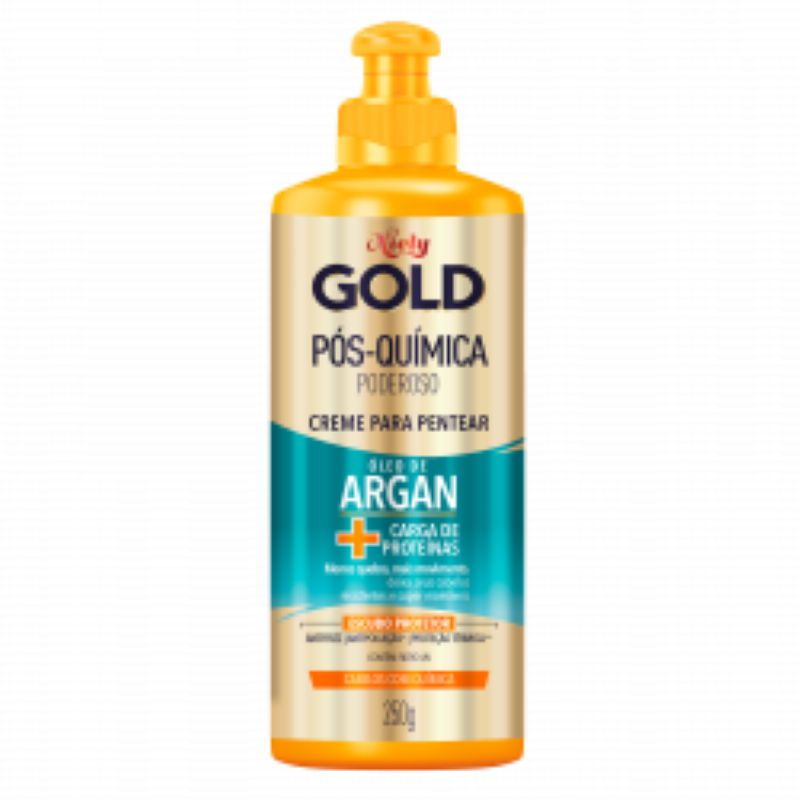 Creme para Pentear Niely Gold Óleo de Argan Pós Quimica 250g  - Sofí Cosméticos