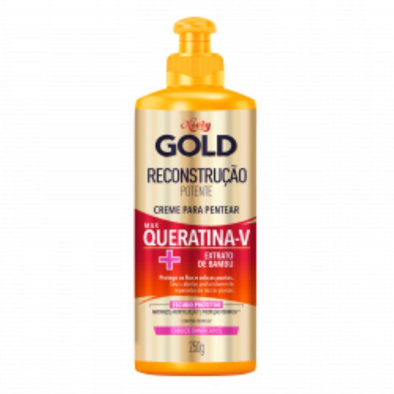 Creme para Pentear Niely Gold Reconstrução Potente 250g