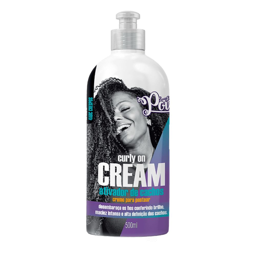 Creme para Pentear Soul Power Curly on Cream 500ml