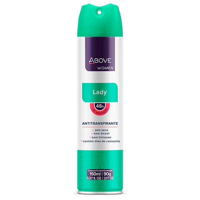 Desodorante Aerosol Above Lady