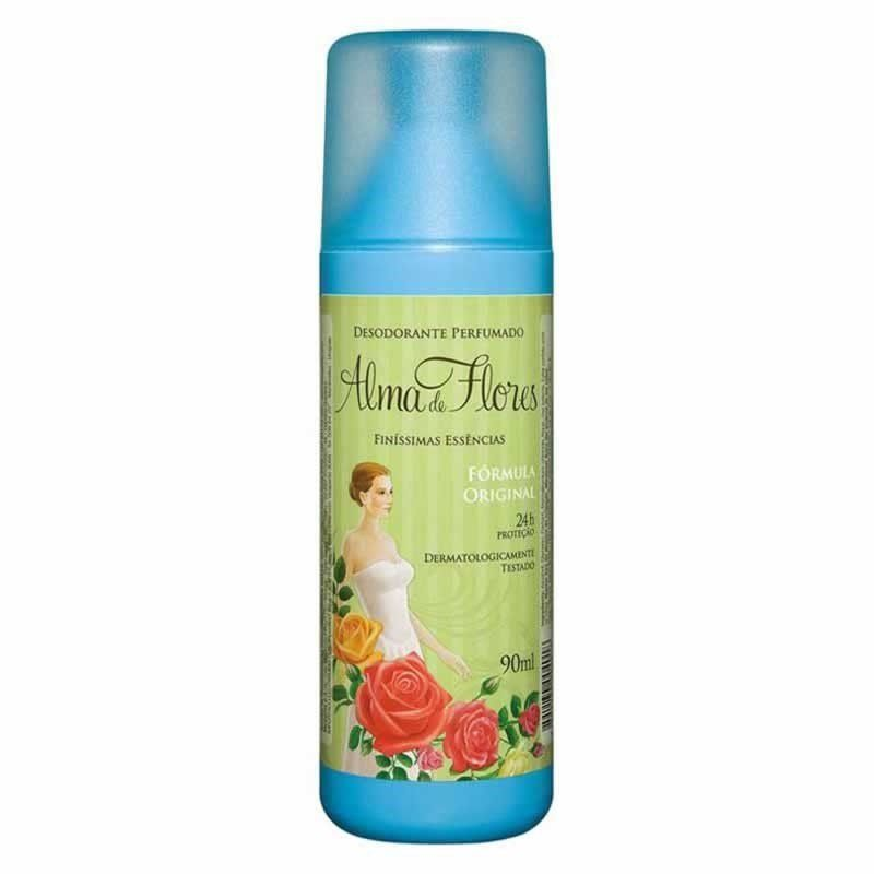 Desodorante Alma De Flores 90ml Spray
