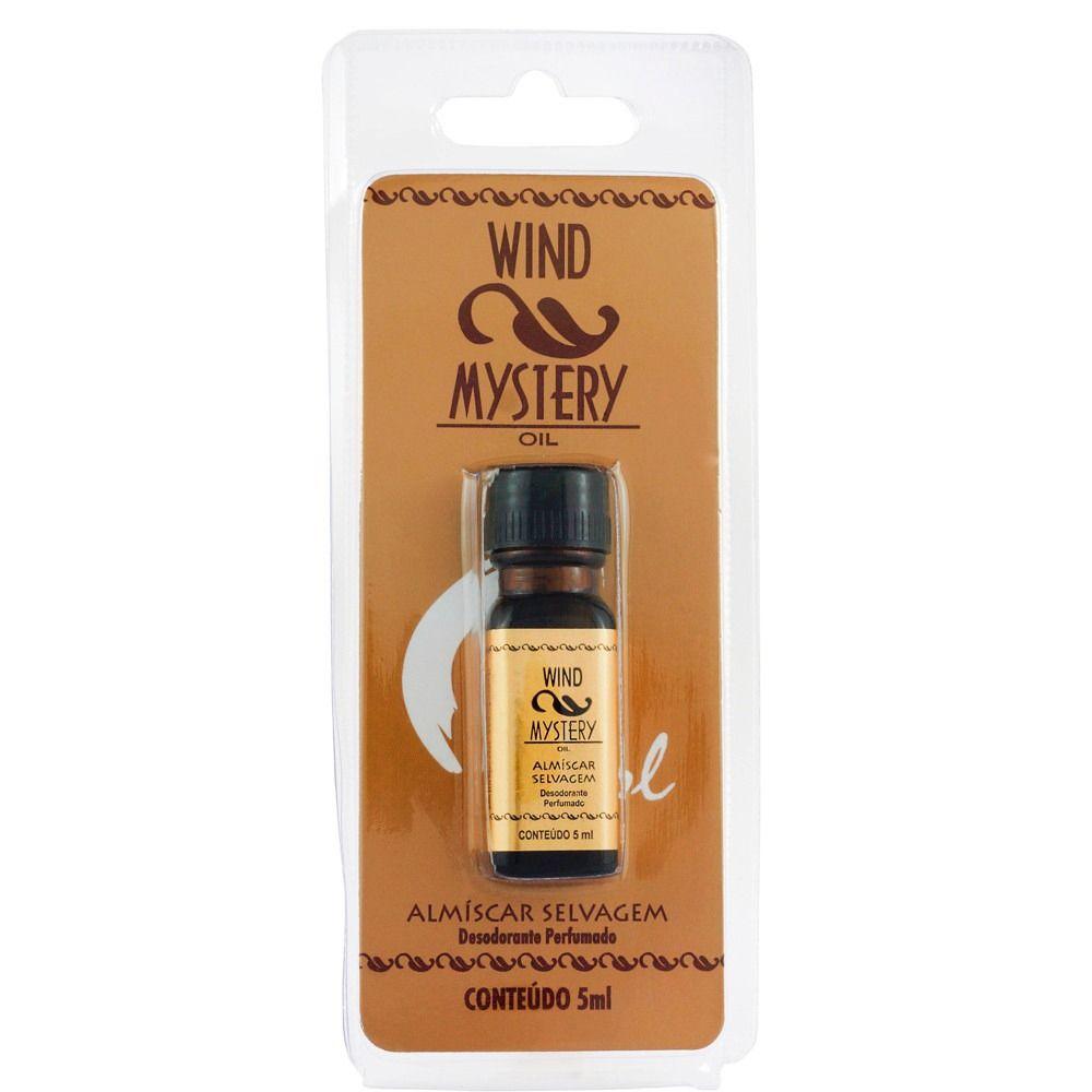 Desodorante Almíscar Selvagem Oil Rugol 5ml